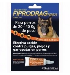 Pack 3 Fiprodrag Perros 20 a 40 kg.