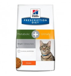 Hills Gato Metabolic + Urinary 2,8 kg.