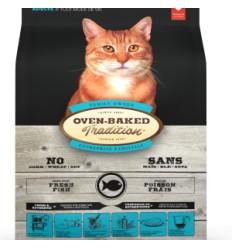 Oven Baked Gatos Libre de Granos Pescado 2,27 kg.