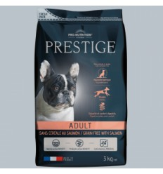 Prestige Adulto Sin Cereales Con Salmon 12 kg.