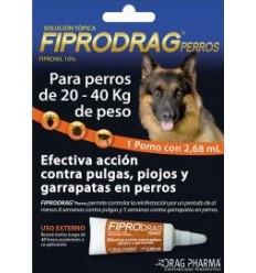 Fiprodrag Perro 20 a 40 kg.
