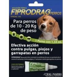 Fiprodrag Perro 10 a 20 kg.