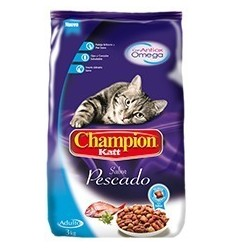 Champion Cat Pescado 20 kg.