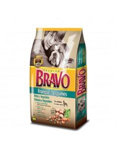 Bravo Adulto Pollo y Cereales 20 kg.