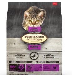 Oven Baked Gatos Libre de Granos Pato 2,27 kg.