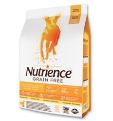 Nutrience Libre de Granos Perro Pollo Pavo y Pescado 5 kg.