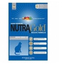 Nutra Gold Senior Indoor Gato 7,5 kg.