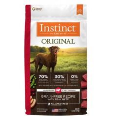Instinct Original Perro Sabor Carne 9 kg.