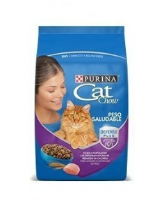 Cat Chow Peso Saludable 8 kg.