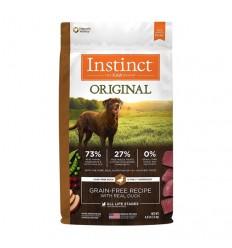 Instinct Original Perro Sabor Pato 9 kg.