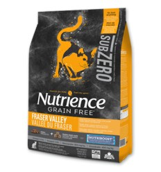 Nutrience Zubzero Gato Frazer Valley 5 kg.