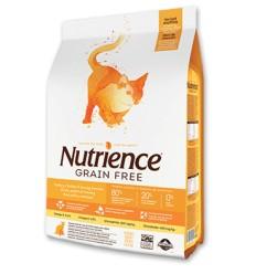Nutrience Libre de Granos Gato Pavo Pollo y Pescado 5 kg.