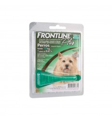 Frontline Plus Perro hasta 10 kg.