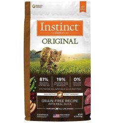 Instinct Original Gato Sabor Pato 2 kg.