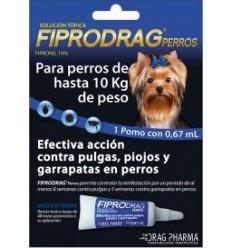 Fiprodrag Perro hasta 10 kg.