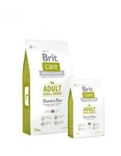 Brit Care Adult Small Cordero 7.5 kg.