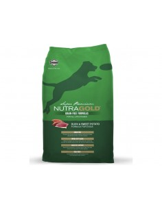Nutra Gold Duck Pato 13,6 kg.
