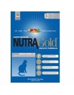Nutra Gold Senior Indoor Gato 3 kg.